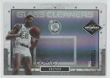 2009-10 Panini Limited Glass Cleaners Silver Spotlight #3 Bill Russell Card