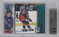 1997-98 Pacific Omega Emerald #145 Wayne Gretzky BGS 8.5 New York Rangers Card