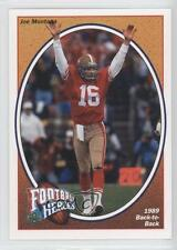 1991 Upper Deck Football Heroes #7 Joe Montana San Francisco 49ers Card