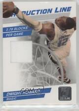 2010-11 Donruss Production Line Materials Memorabilia #60 Dwight Howard Card