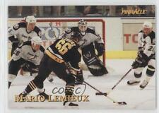 1997 Pinnacle Giant Eagle Mario's Moments #05 Mario Lemieux Pittsburgh Penguins