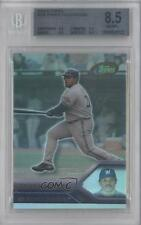 2005 eTopps 216 Prince Fielder BGS 8.5 Milwaukee Brewers RC Rookie Baseball Card