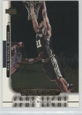 1999-00 Upper Deck Ovation Spotlight #OS9 Tim Duncan San Antonio Spurs Card