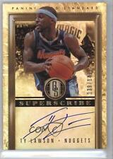 2011-12 Panini Gold Standard Superscribe Signatures #41 Ty Lawson Auto Card