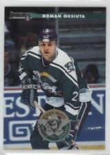1996-97 Donruss #44 Roman Oksiuta Anaheim Ducks (Mighty of Anaheim) Hockey Card