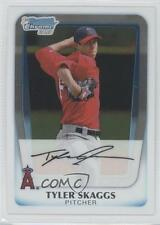 2011 Bowman Chrome Prospects #BCP194 Tyler Skaggs Los Angeles Angels Rookie Card