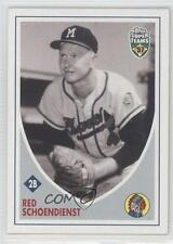 2002 Topps Super Teams #32 Red Schoendienst Milwaukee Braves Baseball Card