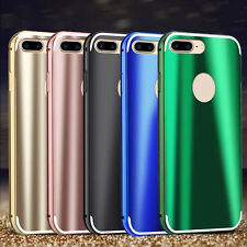 Luxury Aluminum Ultra-thin Metal Bumper Back Case Cover For iPhone 6 6S 7/7 Plus