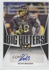 2014 Leaf US Army All-American Bowl Big Hitters Black #BH-KM1 Kevin Mouhon Auto