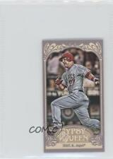 2012 Topps Gypsy Queen Mini Straight Cut #195 Mike Trout Los Angeles Angels Card