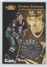 1996-97 Pinnacle Mint Silver #13 Teemu Selanne Anaheim Ducks (Mighty of Anaheim)
