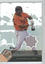 2004 Topps Clubhouse Collection #MTE Miguel Tejada Baltimore Orioles Card