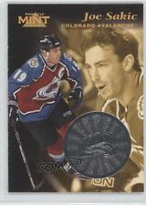 1996-97 Pinnacle Mint Silver 11 Joe Sakic Anaheim Ducks (Mighty of Anaheim) Card