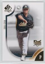2009 SP Authentic Gold #169 Vin Mazzaro Oakland Athletics Rookie Baseball Card