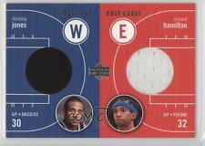 2003 Upper Deck #EW-DJ/RH Richard Hamilton Dahntay Jones Memphis Grizzlies Card