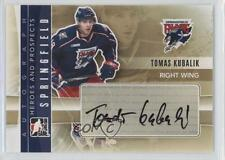 2011-12 In the Game Heroes and Prospects Autographs A-TK Tomas Kubalik Auto Card