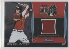 2011 Bowman Draft Picks & Prospects Futures Game Relics FGR-BH Bryce Harper Card