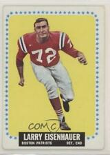 1964 Topps #8 Larry Eisenhauer New England Patriots Football Card