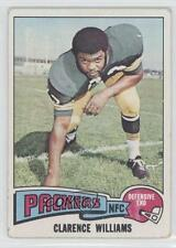 1975 Topps #479 Clarence Williams Green Bay Packers Football Card