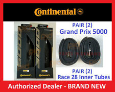 PAIR Continental Grand Prix GP 4000s II Road Bike 2 TIRES TUBES 700 23 25 42 60