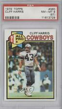 1979 Topps #360 Cliff Harris PSA 8 (ST) Dallas Cowboys Football Card