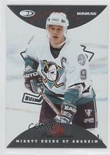 1996-97 Donruss Canadian Ice Red 3 Paul Kariya Anaheim Ducks (Mighty of Anaheim)