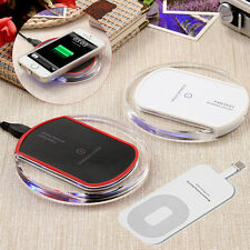 Premium Qi Wireless Charger Dock Charging Pad for Apple iPhone 5 5c 6 6s 7 Plus