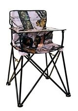 Ciao Baby Portable High Chair Folding Portable Todler Pink Camo Travel Seat New