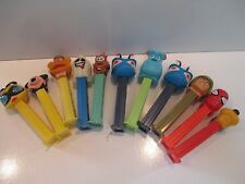 LOT OF 10 MIXED PEZ DISPENSERS IN GOOD CONDITION