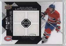 2008-09 Upper Deck Black Diamond Quad Jerseys #BDJ-GL Guillaume Latendresse Card