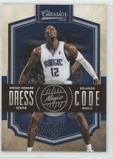 2009-10 Panini Classics Dress Code Silver #12 Dwight Howard Orlando Magic Card