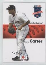 2008 TRISTAR PROjections 385 Chris Carter Boston Red Sox Pawtucket Baseball Card