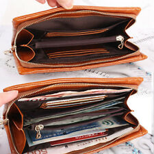 5 Colors Soft Genuine Leather wallet Card Holders Purse Lady pouch Handbag