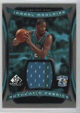 2004-05 SP Game Used Authentic Fabrics AF-JM Jamaal Magloire New Orleans Hornets