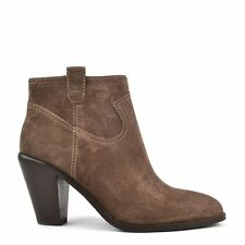Ash Footwear Ivana Chestnut 'Brown' Suede Ankle Boot