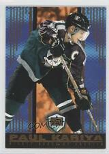 1998-99 Pacific Dynagon Ice 3 Paul Kariya Anaheim Ducks (Mighty of Anaheim) Card