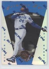 1997 Pinnacle Certified Mirror Blue #15 Jermaine Dye Kansas City Royals Card