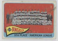 1965 Topps #293 Los Angeles Angels Team Baseball Card