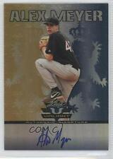 2011 Leaf Valiant Blue #VA-AM1 Alex Meyer Auto Autographed Rookie Baseball Card