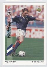 1993 Upper Deck World Cup 94 Preview English/Spanish 92 Ally McCoist Soccer Card