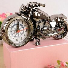 Motorcycle Pocket Watches Alarm Clock