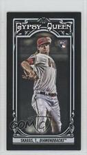 2013 Topps Gypsy Queen Mini Black #15 Tyler Skaggs Arizona Diamondbacks Card
