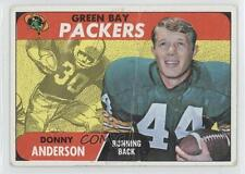 1968 Topps #209 Donny Anderson Green Bay Packers RC Rookie Football Card