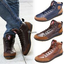 Men's Fashionable Casual Sneaker Lace-up Shoes Flat Shoes Sport UTAR