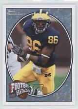 2008 Upper Deck Football Heroes Blue #177 Mario Manningham New York Giants Card