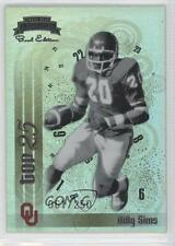 2008 Press Pass Legends Bowl Edition Top 25 #TT-9 Billy Sims Oklahoma Sooners
