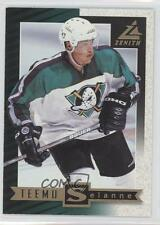 1997-98 Pinnacle Zenith Promo 24 Teemu Selanne Anaheim Ducks (Mighty of Anaheim)
