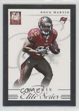 2012 Elite Series Rookies Silver 10 Doug Martin Tampa Bay Buccaneers Rookie Card