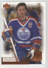 1999-00 Upper Deck Living Legend #42 Wayne Gretzky Edmonton Oilers Hockey Card