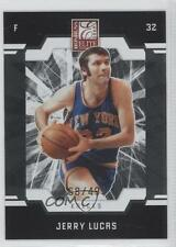 2009-10 Donruss Elite #146 Jerry Lucas New York Knicks Basketball Card